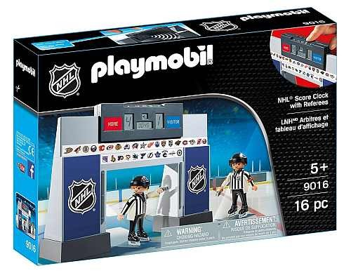 Playmobil 9016 NHL Score Clock with 2 Referees
